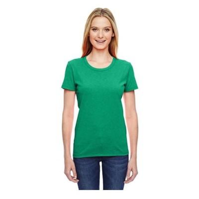 レディース 衣類 トップス Fruit of the Loom Women's Athletic Crewneck T-Shirt Style L3930R Tシャツ