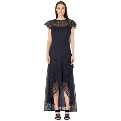 モニーク ルイリエ レディース ワンピース トップス High-Low Ruffle Dress
