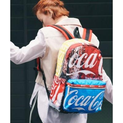 リュック 【Coca-Cola×LeSportsac】CARSON BACKPACK コーク コラージュ