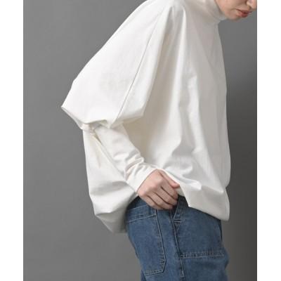 tシャツ Tシャツ 【WEB限定】pura ボトルネックドルマンプルオーバー