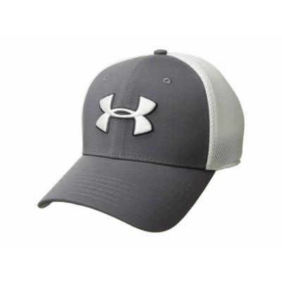 アンダーアーマー 帽子 アクセサリー メンズ TB Classic Mesh Cap Graphite/White/White