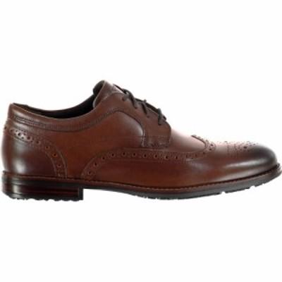 ロックポート Rockport メンズ 革靴・ビジネスシューズ ブローグ シューズ・靴 Dust Brogues New Caramel