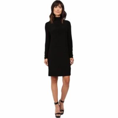 ノーマ カマリ KAMALIKULTURE by Norma Kamali レディース ワンピース ワンピース・ドレス Long Sleeve Turtleneck Dress To Knee Black