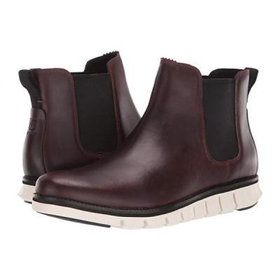 コールハーン Zerogrand Chelsea WP メンズ ブーツ Waterproof CH Chestnut Leather/Ivory
