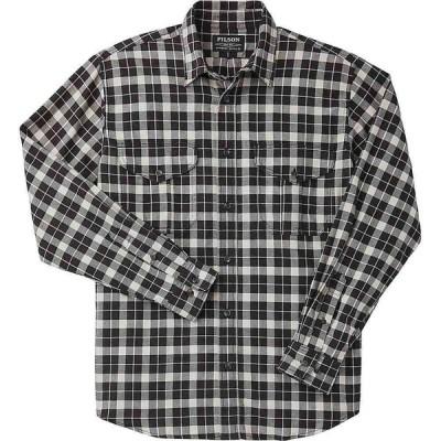 フィルソン Filson メンズ シャツ トップス Lightweight Alaskan Guide Shirt Brown Heather/Lt Khaki Plaid