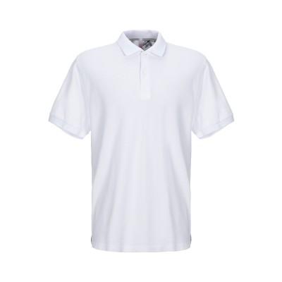 サンシックスティエイト SUN 68 ポロシャツ ホワイト S コットン 100% ポロシャツ