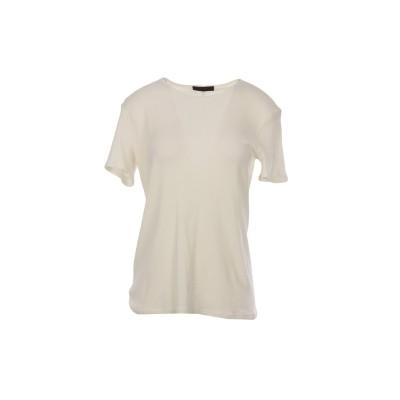 THE ROW T シャツ アイボリー L コットン 100% T シャツ