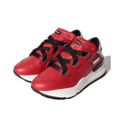 【ルコライン】 4038 NATURE RED-WHITE レディース RED-WHITE 35(22.5cm相当) RUCOLINE