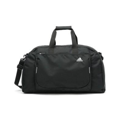 (adidas/アディダス)アディダス ボストン adidas ボストンバッグ 2WAY ショルダー スクール スポーツ 49L 1泊 2泊 3泊 大容量 部活 旅行 修学旅行 57709/ユニセックス ブラック