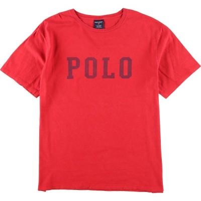 ラルフローレン Ralph Lauren POLO SPORT ポロスポーツ 半袖 ロゴTシャツ メンズXL /eaa154429