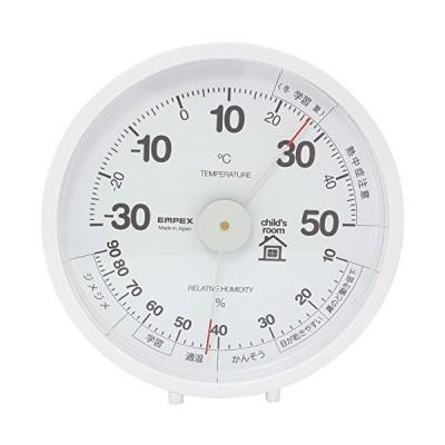 エンペックス おうちルーム温湿度計 置き掛け兼用 子供部屋用 TM-6331