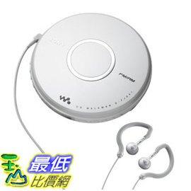 [106二手良品] 便攜式隨身聽 Sony DFJ041 Portable Walkman CD Player with Tuner Discontinued by Manufacturer