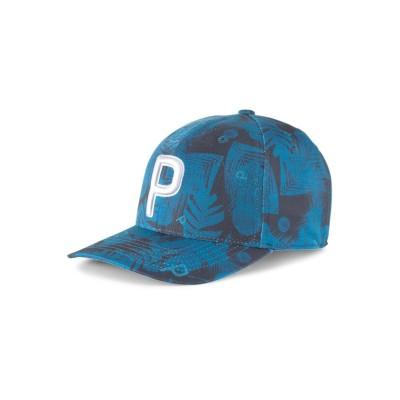 (PUMA/プーマ)ゴルフ ビーチ P 110 スナップバック キャップ/メンズ OCEANDEPTHS-NAVYBLAZER