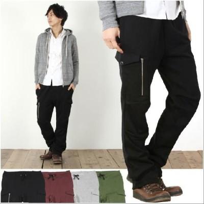<br>【パンツ メンズ】日本製 コーマ 裏毛 イージー カーゴ パンツ 男性 メンズ Upscap sale