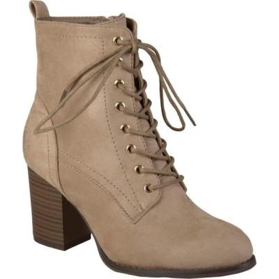 ジュルネ コレクション Journee Collection レディース ブーツ シューズ・靴 Baylor Bootie Taupe