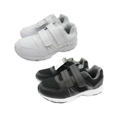 喜多 MK-890 スニーカー 短靴 マジックタイプ