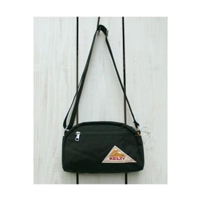 KELTYケルティ ショルダー ラウンドトップバック S  ブラック 黒 コーデュラ Vintage Round Top Bag S Black cordura ポーチ 小さ目