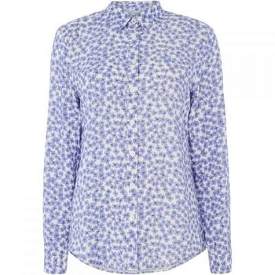クルークロッシングカンパニー Crew Clothing Company レディース ブラウス・シャツ トップス agnes printed viscose shirt Multi-Coloured