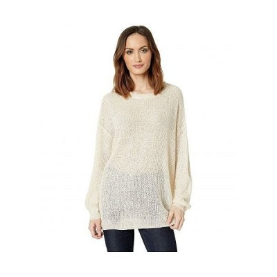 American Rose レディース 女性用 ファッション セーター Greer Knit Sweater - Oatmeal
