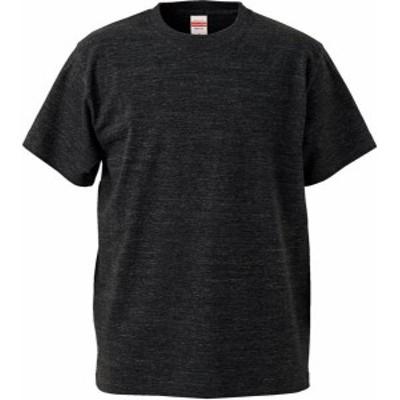 ユナイテッドアスレ カジュアル 5.6オンス ハイクオリティーTシャツ(アダルト)XXXL 16 ヘザーブラック Tシャツ(500101cxx-725)