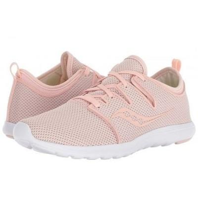 Saucony サッカニー レディース 女性用 シューズ 靴 スニーカー 運動靴 Eros Lace - Pink