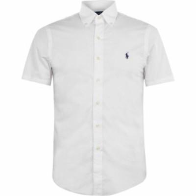 ラルフ ローレン Polo Ralph Lauren メンズ シャツ トップス Stretch Poplin Shirt White