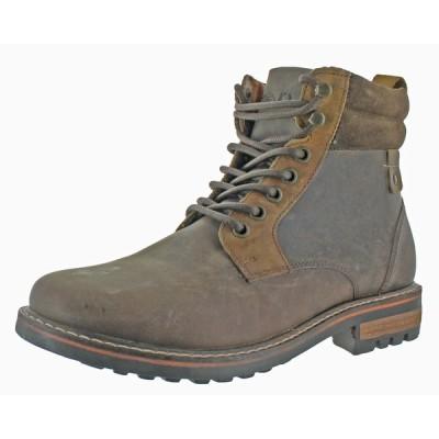 ブーツ 海外直輸入ブランド Crevo Pitney Men's Leather Hiker Ankle Boots