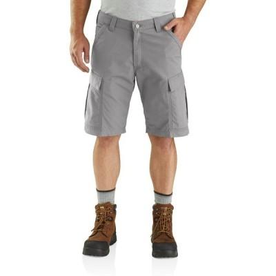 カーハート カジュアルパンツ ボトムス メンズ Carhartt Men's Force Broxton Cargo Shorts 11 in Gray