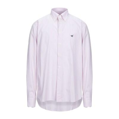 ヘンリー コットンズ HENRY COTTON'S シャツ ピンク XL コットン 100% シャツ