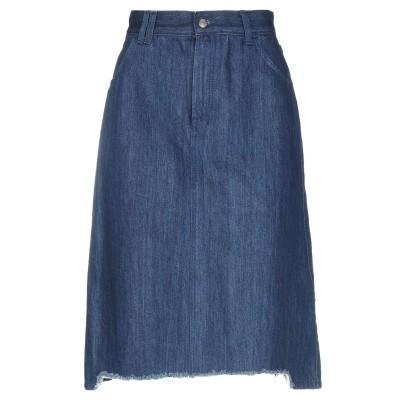ロイ ロジャース ROŸ ROGER'S デニムスカート ブルー 26 コットン 100% デニムスカート