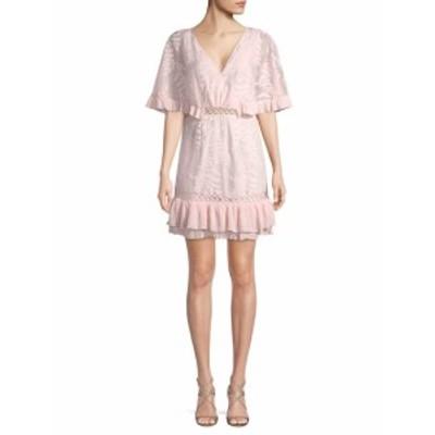 レンビー レディース ワンピース Lace Frill Mini Dress