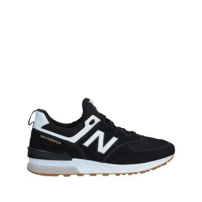 ニュー・バランス NEW BALANCE スニーカー ブラック 11 紡績繊維 / 革 スニーカー