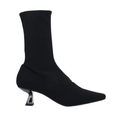 VAGABOND SHOEMAKERS ショートブーツ ブラック 36 紡績繊維 ショートブーツ