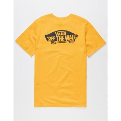 ヴァンズ VANS メンズ Tシャツ ポケット トップス OTW Classic Pocket Tee MARIGOLD