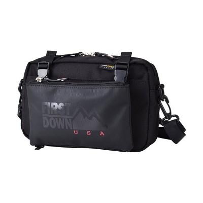 ファーストダウン(FIRST DOWN USA) ショルダーバッグ Double 横SDバッグ ブラック 38006 0001 FD-USA バッグ かばん カジュアル おしゃれ