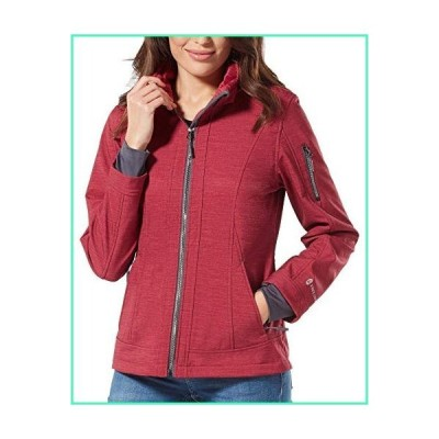 Free Country Women's Freeform Softshell Jacket (Etched Red, L)並行輸入品