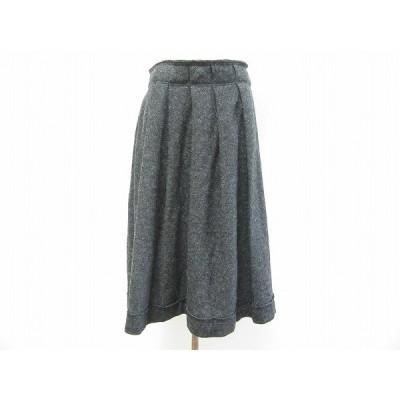 #wnc ワイズ Y'sヨウジヤマモト スカート 2 グレー 巻きスカート風 レディース [649891]