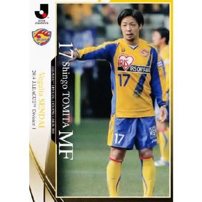 2014 Jリーグオフィシャルカード レギュラー 007 富田晋伍 (ベガルタ仙台)