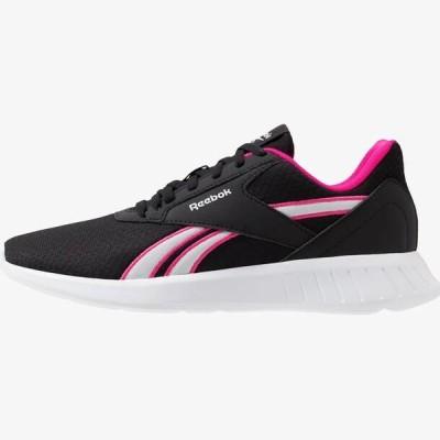 リーボック レディース スポーツ用品 LITE 2.0 - Neutral running shoes - black/pink/white