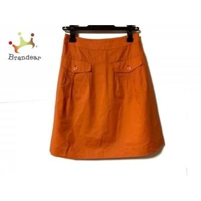ジャスグリッティー JUSGLITTY スカート サイズ2 M レディース オレンジ  スペシャル特価 20210314