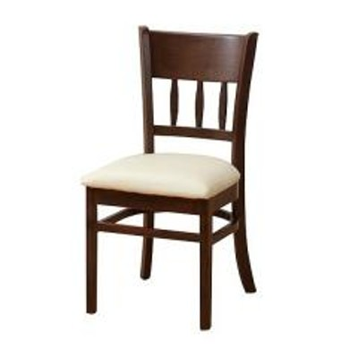 ダイニングチェア マーチ 2脚セット ダークブラウン(  食卓椅子 )