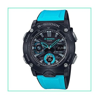 Men's Casio G-Shock Analog-Digital Carbon Core Guard Blue Resin Band Watch GA2000-1A2並行輸入品