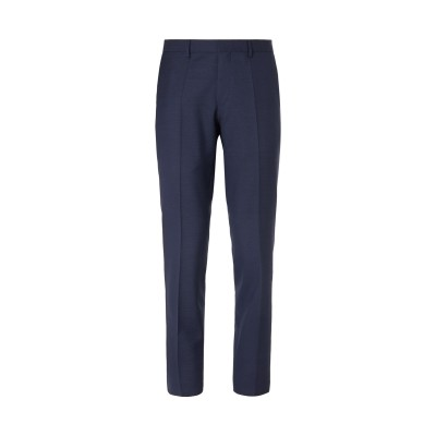 BOSS HUGO BOSS パンツ ダークブルー 56 バージンウール 100% / ポリエステル / ポリウレタン パンツ