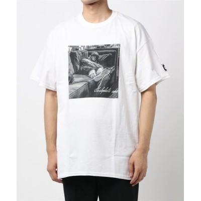 CIAOPANIC / 【BLOCK PHOTO/ブロックフォト】blockphoto back/プリントTシャツ MEN トップス > Tシャツ/カットソー