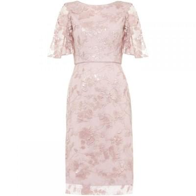 フェイズ エイト Phase Eight レディース パーティードレス ワンピース・ドレス Harlow Sequin Lace Dress Rose