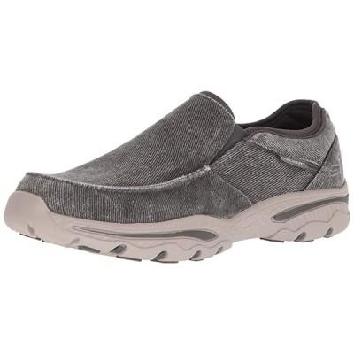Skechers メンズ Relaxed フィット-Creston-Moseco Moccasin, チャコール, 9.5 M US(海外取寄せ品)