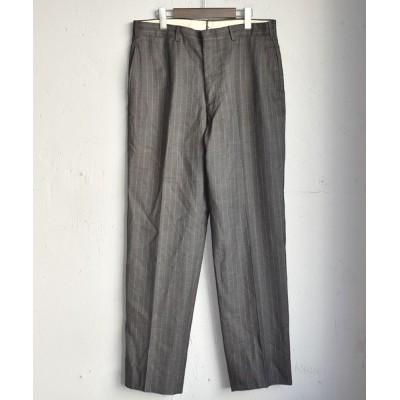 LABORATORY/BERBERJINR / 【ヴィンテージ古着】80's ストライプ柄 スラックス パンツ MEN パンツ > スラックス