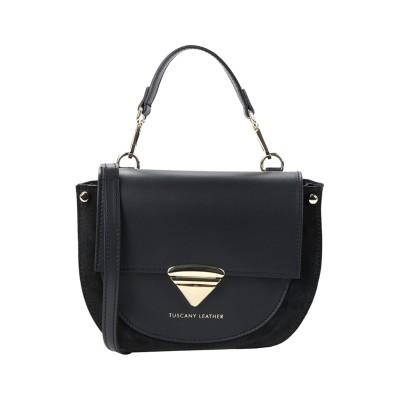 TUSCANY LEATHER ハンドバッグ ブラック 革 ハンドバッグ