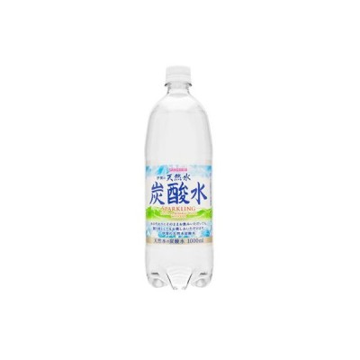 サンガリア『1Lサイズ』 伊賀の天然水 炭酸水 1000mlペットボトル 12本入