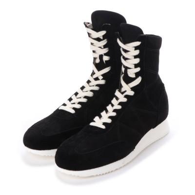 ディガウト DIGOUT ALI (Hi-Top Boxing Sneakers) (BLACK)